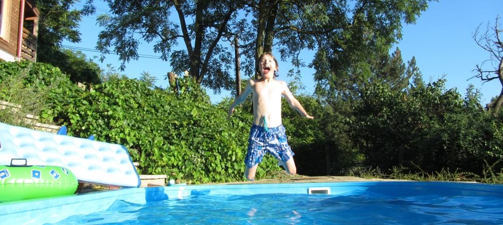 Fun in eigen Privé zwembad!